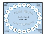 Pum Bum Catapum! Board Game – Regular Present Tense Verbs