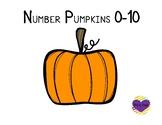 Pumpkin Numbers 0-10