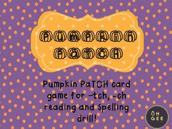 Pumpkin PaTCH- Orton-Gillingham Aligned