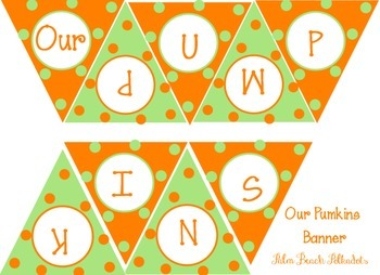 Pumkin Patch Fall themed bulletin board Perfect for creative writing