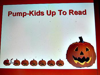 Pump-Kids Up to Read, A Halloween Bulletin Board