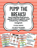 Pump the Breaks! Using A Classroom Break Space to Support