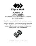 Pumping Up ... For Algebra Summer Workbook