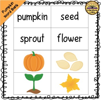 Pumpkin Pumpkin {Foldable Booklet, Pumpkin Word Bank, Life Cycle Posters}