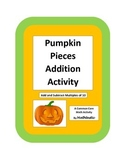 Pumpkin Pieces Adding and Subtracting Multiples of 10 Activity