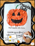 Fall Pumpkin Craft & Life Cycle for preschool, kindergarten, first grade
