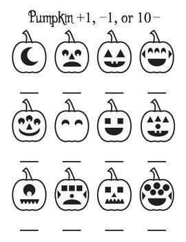 Pumpkin +1, -1, 10-