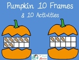 Pumpkin 10 Frames and Activity Set