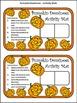 Pumpkin Activities: Pumpkin Dominoes Halloween Math Activity Packet