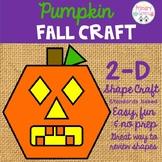 Pumpkin 2-D Fall Craft