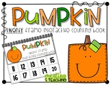 Pumpkin 20 Frame Counting Interactive Book