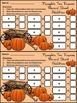 Fall-Halloween Ten Frames: Pumpkin Ten Frames Math Center Activity