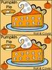 Pumpkin Pie Activities: Thanksgiving Pumpkin Pie Roll & Co
