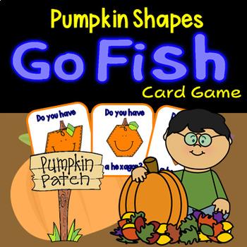 Pumpkin 2D Shapes Go Fish