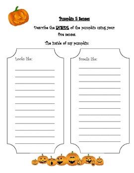 Pumpkin 5 Senses