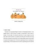 Pumpkin 5 day Unit Plan