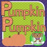 Pumpkin 5 day shared reading kindergarten