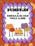 Pumpkin: A Fall Kindergarten Word Game
