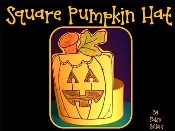 Pumpkin: {A So Sweet Craft Square Pumpkin Hat}