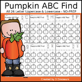 Pumpkin ABC Letter Find