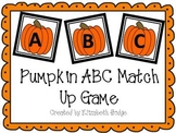 Pumpkin ABC Match Up Game
