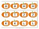 Pumpkin ABC Memory- Easy to Prep Letter and Sound Game
