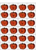 Pumpkin ABC Order