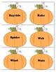 Pumpkin ABC Order Literacy Center - Print and Go!
