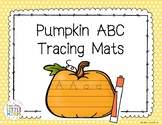 Pumpkin ABC Tracing Mats