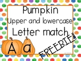 Pumpkin ABC match FREEBIE!