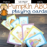 Pumpkin Alphabet playing cards