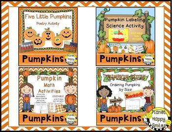 Pumpkin Activities Bundle