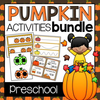 Pumpkin Activities Bundle (Preschool)