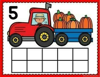 Pumpkin Activities Bundle for Preschool