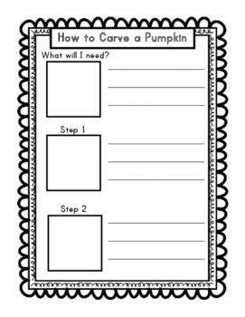 Pumpkin Activities/Center Activities