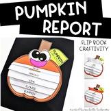 Pumpkin Activities | Pumpkin Life Cycle Facts Flip Book