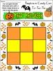Pumpkin Activities: Pumpkins & Candy Corn Halloween Tic-Tac-Toe Game - Color