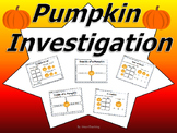 Pumpkin Activities: Weigh, Measure, Count seeds, etc.