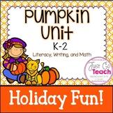 Pumpkin Activities for K-2