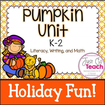 Pumpkin Activities for K-2