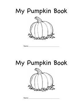 Pumpkin Activity Book
