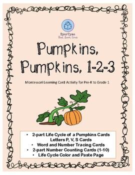 Pumpkin Activity Card Set