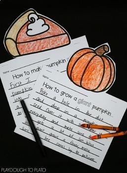 Pumpkin Activity Pack - First Grade