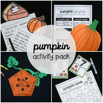 Pumpkin Activity Pack - First Grade