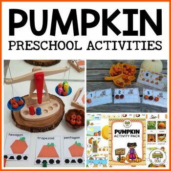 Pumpkin Preschool Activities and Centers