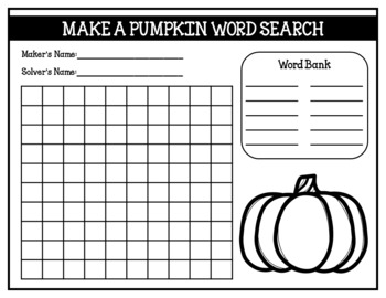 Pumpkin Activity Pack (worksheets, life cycle spinner wheel & board game)