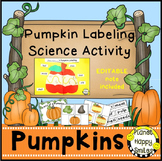 Pumpkin Activity ~ Pumpkin Labeling Science Activity and Reader