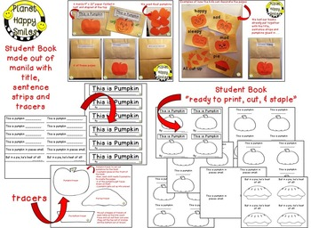 "Pumpkin Activity ~ ""This is Pumpkin"" Poetry Reader & Student Books"