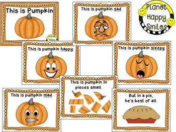 "Pumpkin Activity ~ ""This is Pumpkin"" Poetry Reader & Student Books"