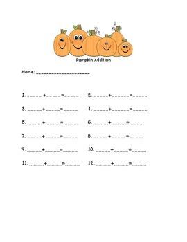 Pumpkin Addition for Fall